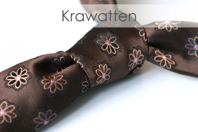 Herrenmode, Krawatten